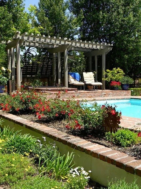 Pergola Design Ideen Garten Ideen Pool