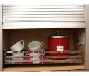 Richelieu Kitamb30ss Tambour Door Kit Stainless Steel Finish Width Of 550 To 754 Mm Door Kits Tambour Metal Extrusion