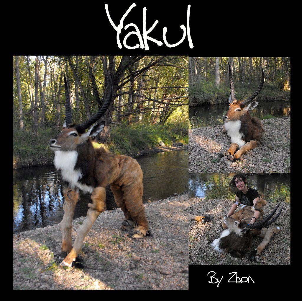 Yakul Costume By Zhoniantart On @deviantart