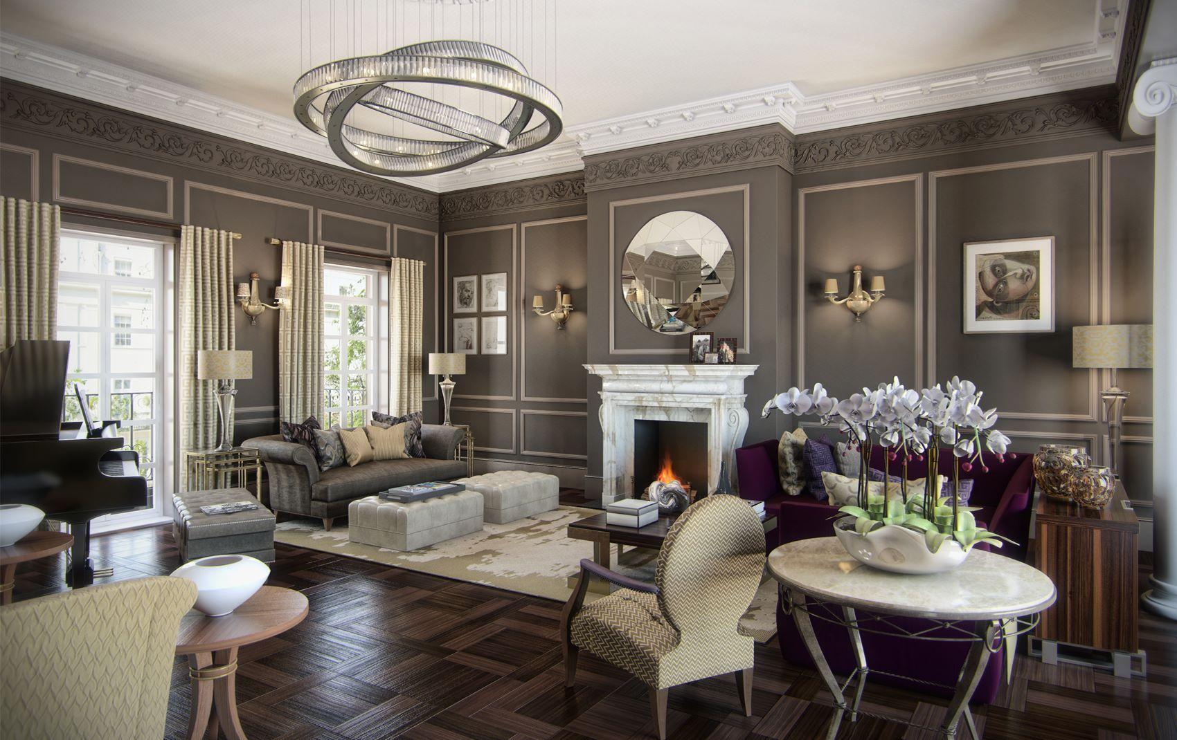 Exclusive interior design for home - Ren Dekker Design London High End Luxury Exclusive Interior Design By Ren Dekker