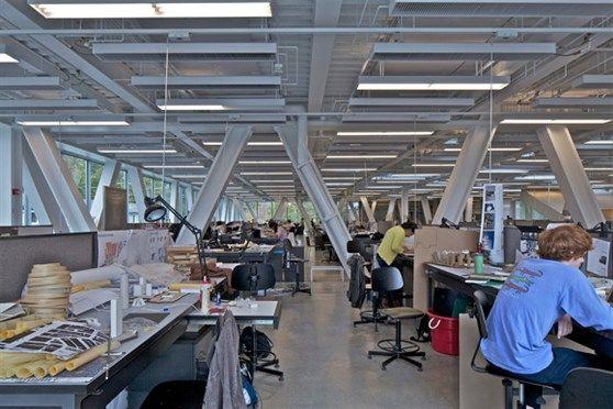 Oma milstein hall cornell university architecture - Cornell university interior design program ...