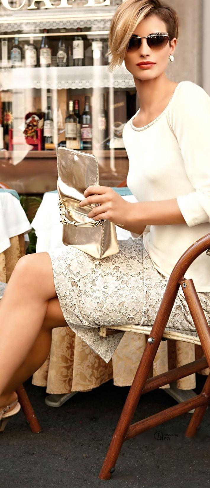 El pixie elegante está de moda cortes de pelo cortes carré