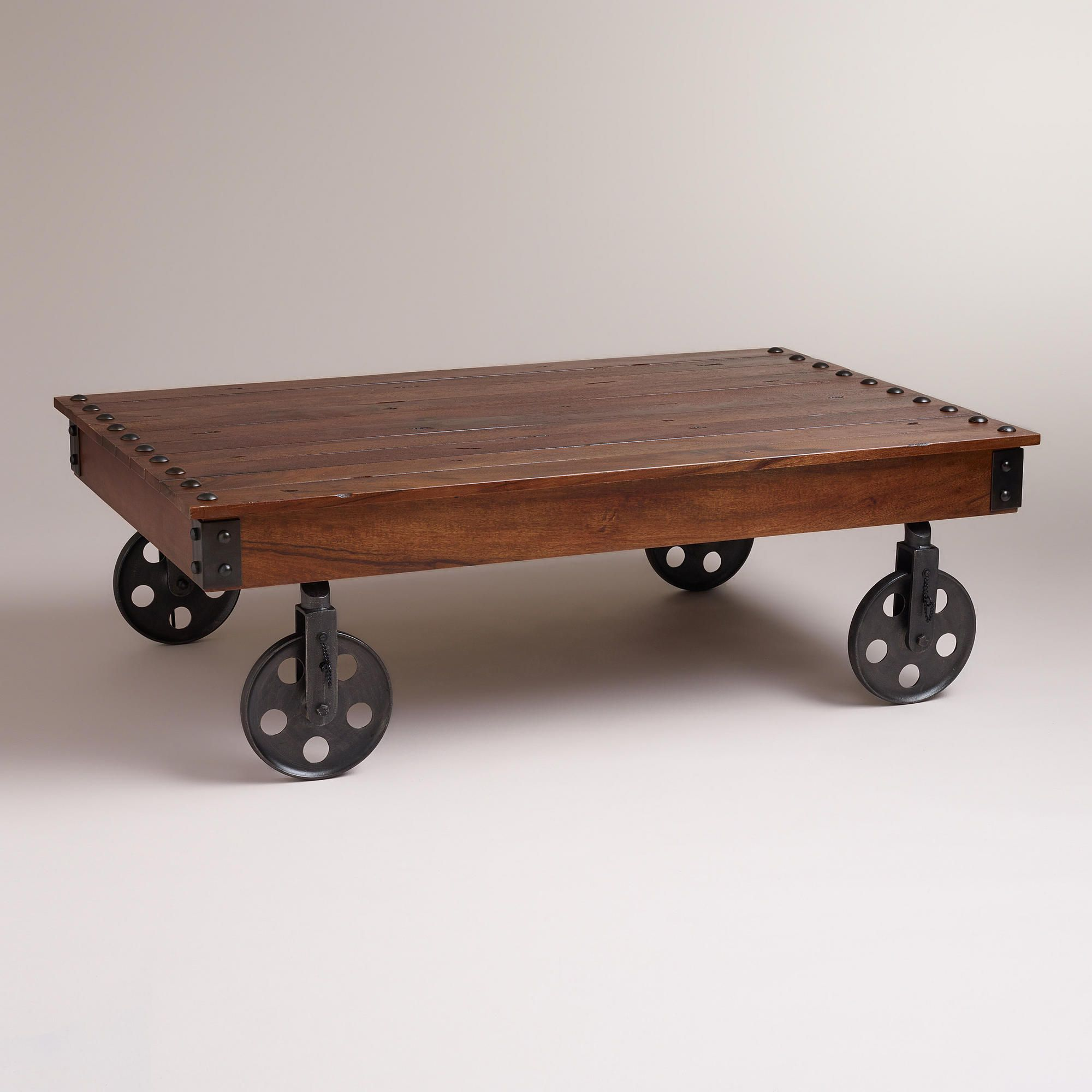 Henry Coffee Table Crafted Of Solid Mango Wood In India With A
