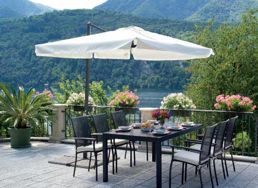 Ombrellone da giardino | terrazzo | Pinterest | Ombrellone, Giardino ...