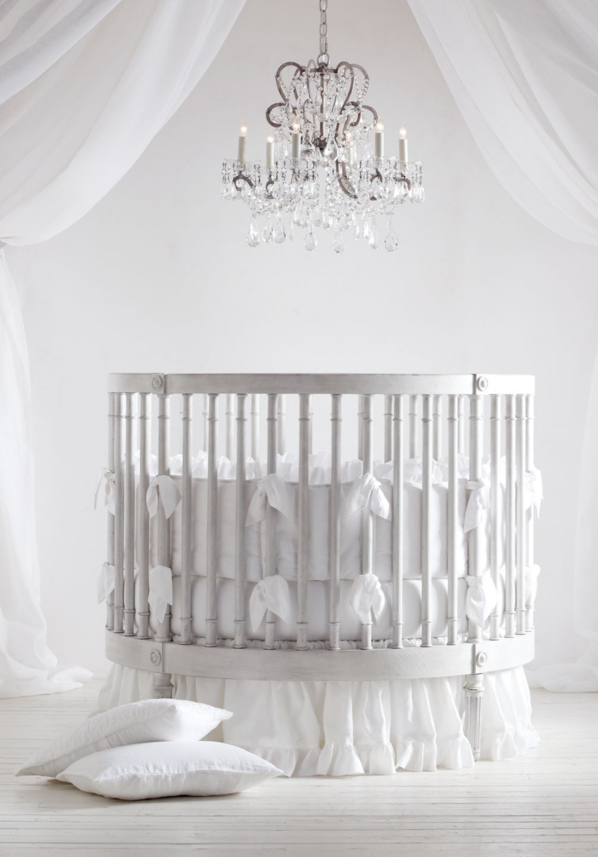 Ellery Round Crib Mattress Round Cribs Round Crib Nursery