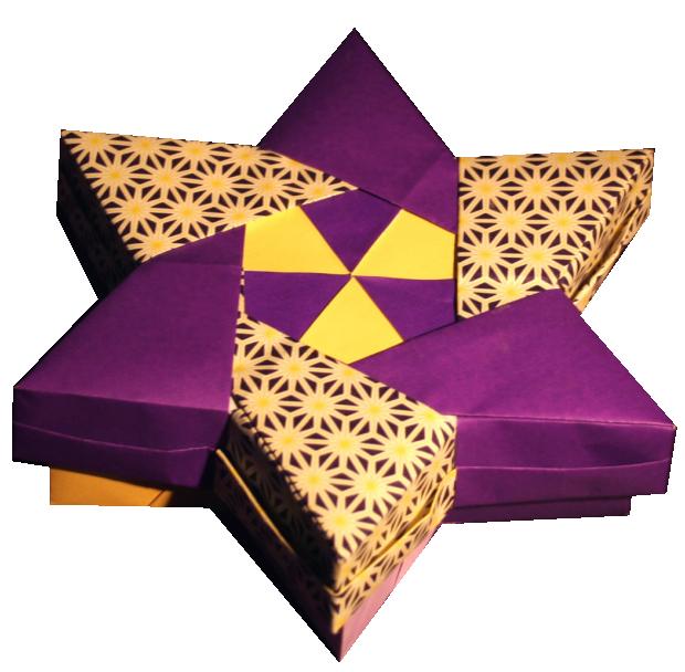 Origami Boxes Star Box By Robin Glynn Folding