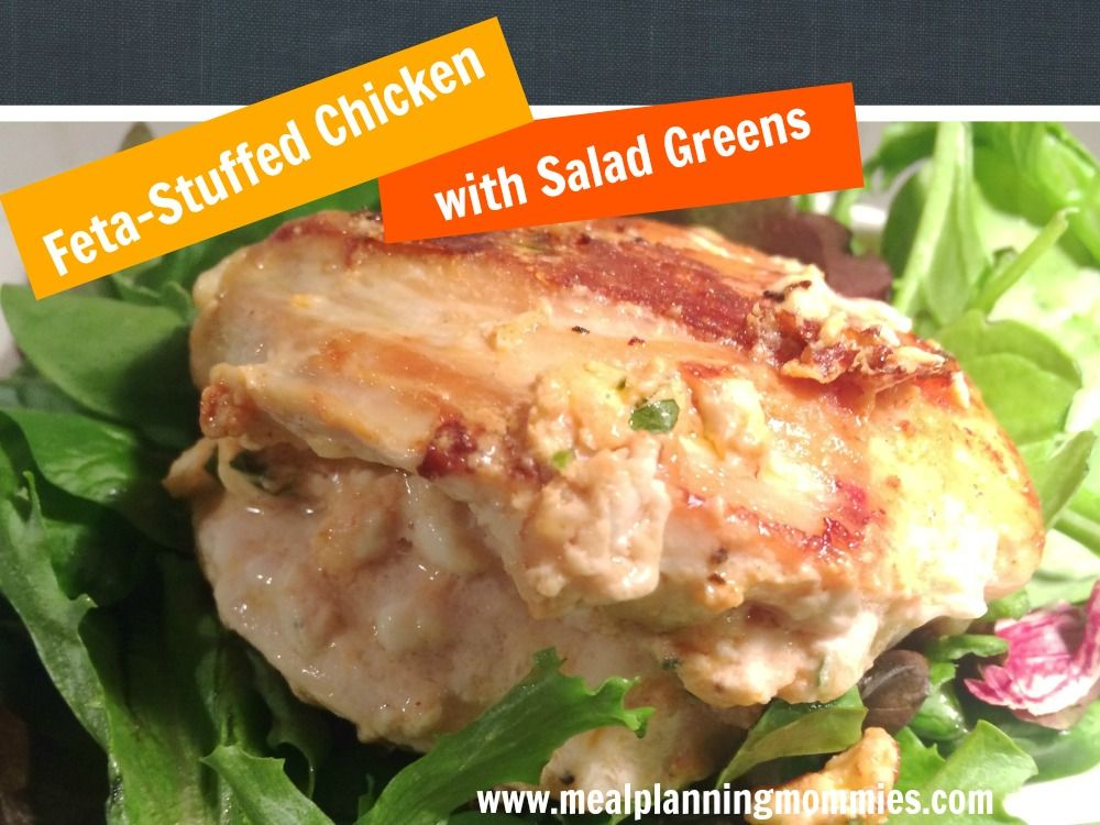 Feta-Stuffed Chicken, 6 WW Smart Points