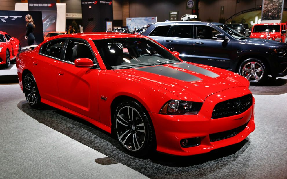 2017 Dodge Charger Super Bee Red