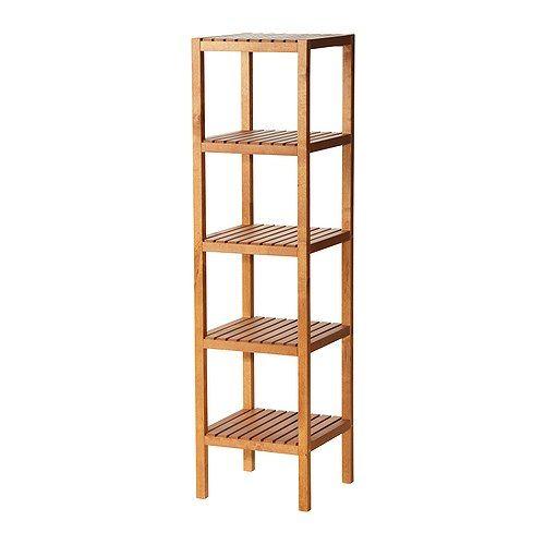 MOLGER Shelf Unit, Birch. Ikea Bathroom ...