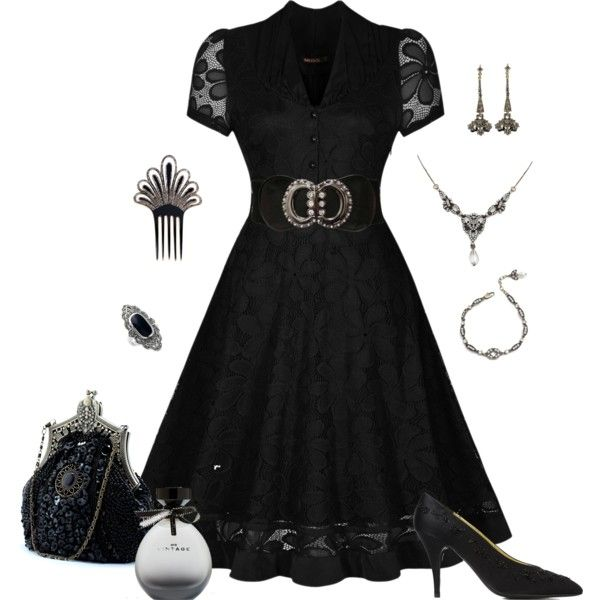 Dressed Up Vintage by lwilkinson on Polyvore featuring Miusol, Chanel, Sweet Romance, American Eagle Outfitters, vintage, women's clothing, women's fashion, women, female and woman