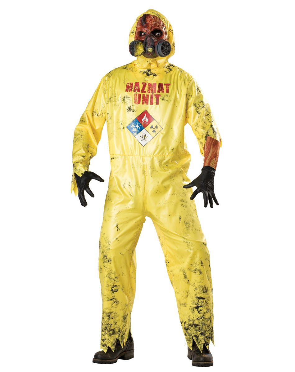 Hazmat Hazard Adult Mens Costume – Spirit Halloween | Halloween ...