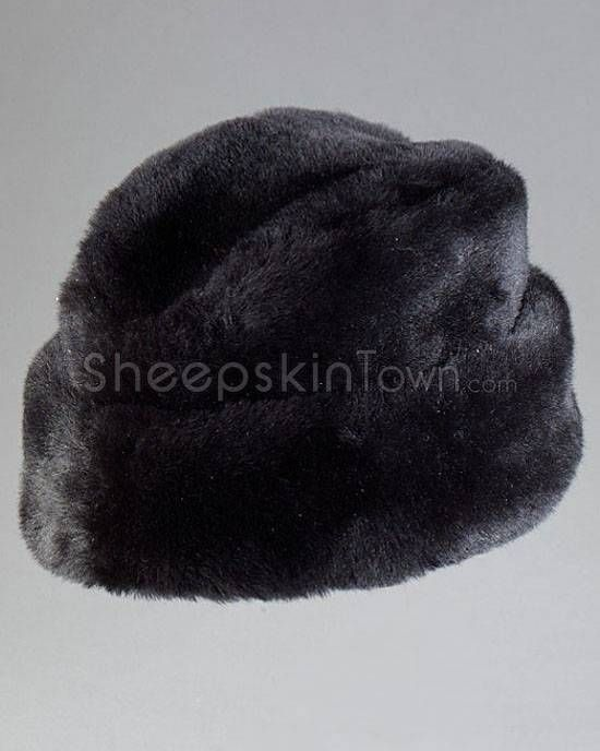 e17e415f61477 Black Russian Cossack Hat - Mouton Sheepskin