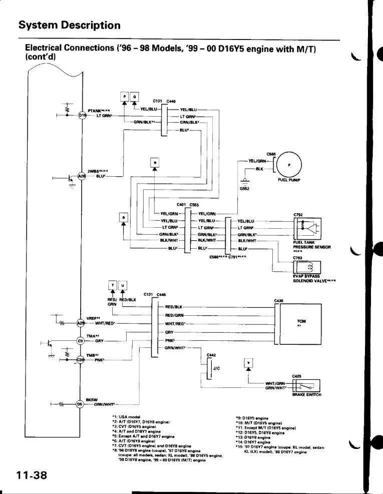 15 d16y8 engine wire harness diagram  engine diagram