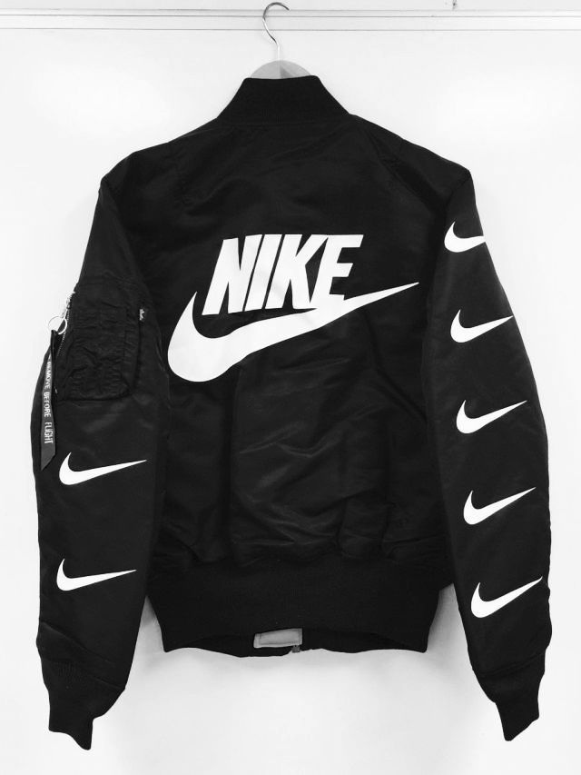 cb4152e7c Mens Activewear, Bomber Jackets, Black Bomber Jacket, Outerwear Jackets,  Nike Custom,