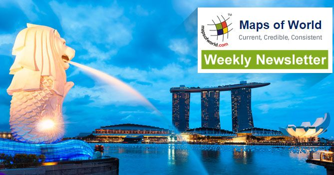 MapsofWorld.com weekly #newsletter is out! Check it out for Bestseller Maps, #Maine Infographic, Singapore Backgrounder & More!