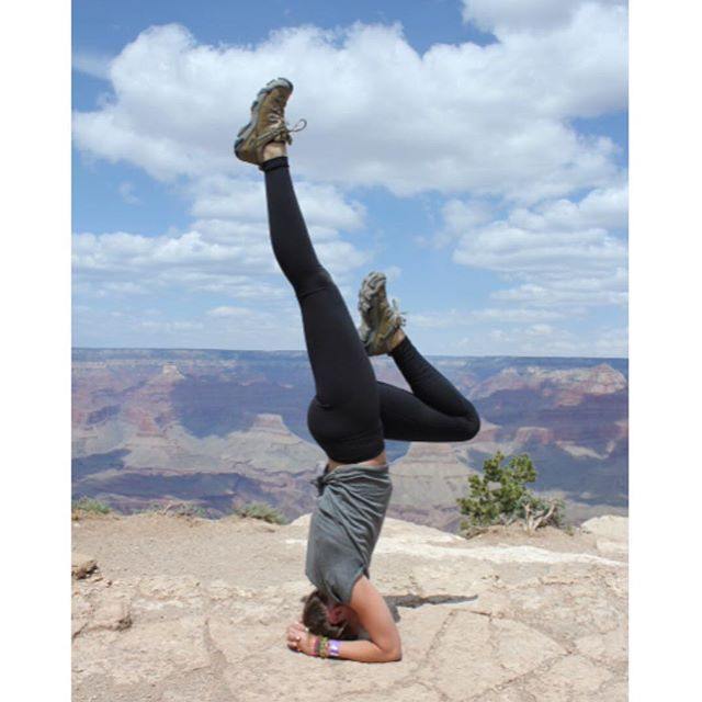 Instagram photo from @jamiealcornyoga | Yoga poses ...