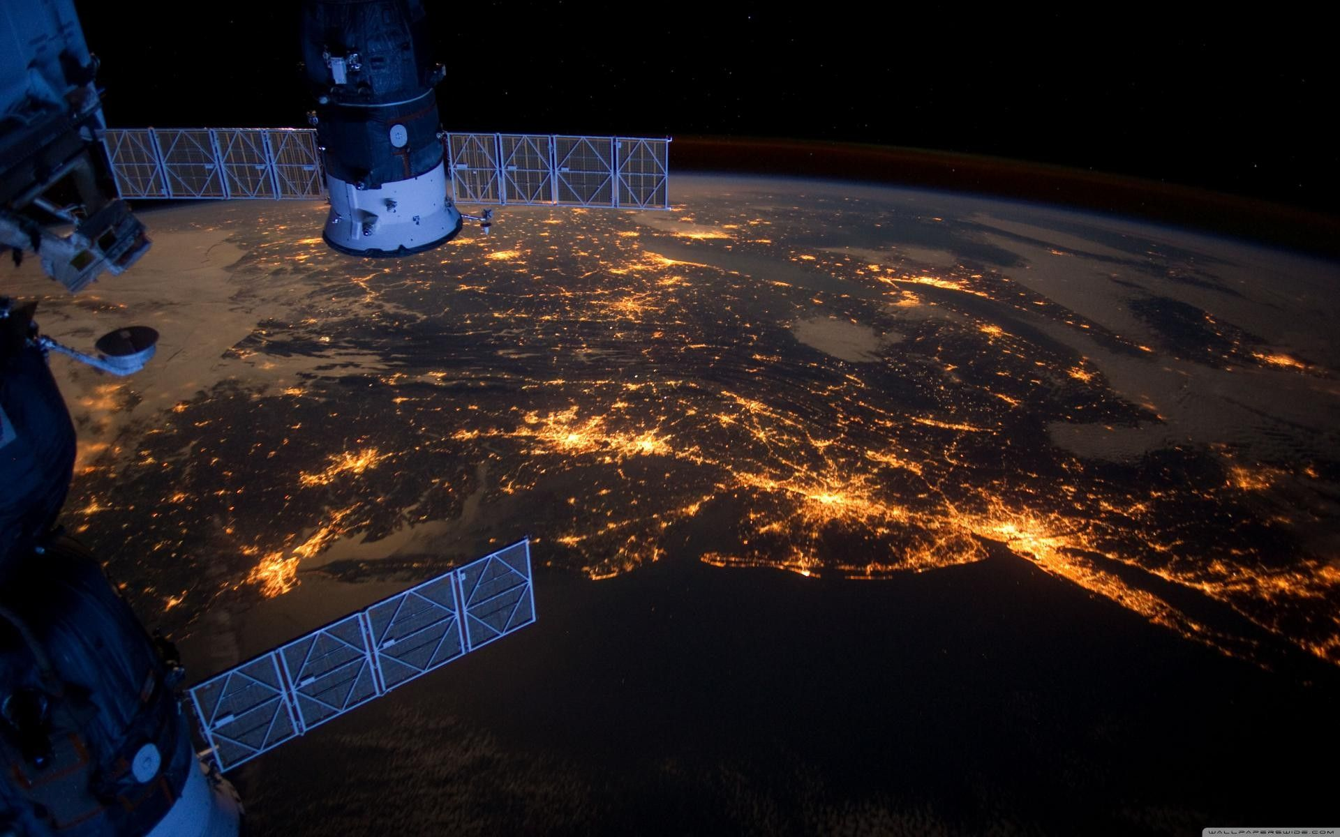 Fondos De Pantalla Espaciales 15 Earth From Space Space Station International Space Station