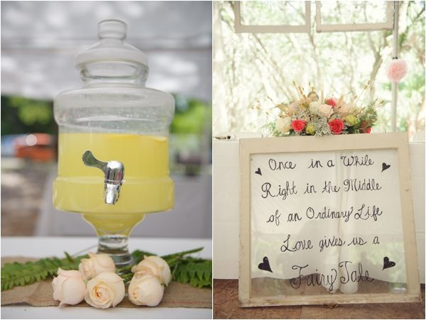 Drink Station Vintage Window Pane With Handwritten Love Quote Aqua Mint And Pink Wedding Southern