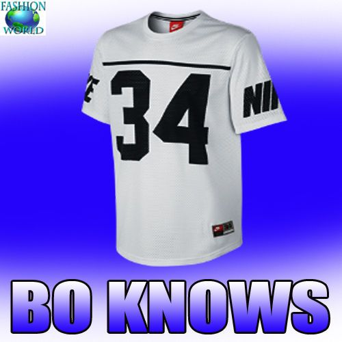 release date: b0487 4fe8f NIKE BO JACKSON #34 BO KNOWS FRANCHISE JERSEY WHITE/BLUE ...