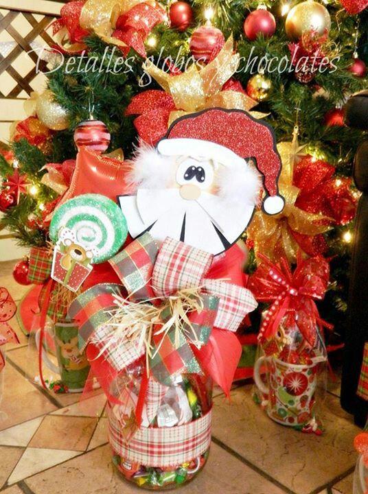 Pin de abby en detalles con globos pinterest dulceros - Ideas de arreglos navidenos ...
