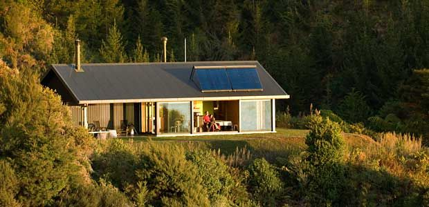 Little greenie most energy efficient house in nz for Small efficient homes