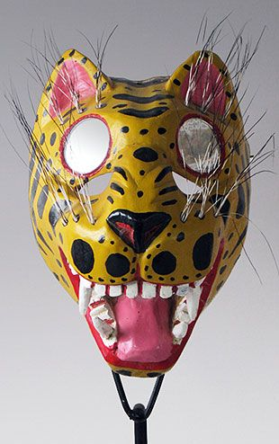mask leopard jaguar and tutorial animaplates cheetah craft projects
