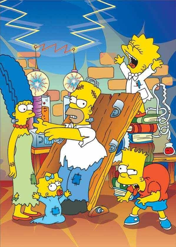 Simpsons frankenstein the simpsons in 2018 pinterest simpsons anime and dessin - Bande dessinee simpson ...