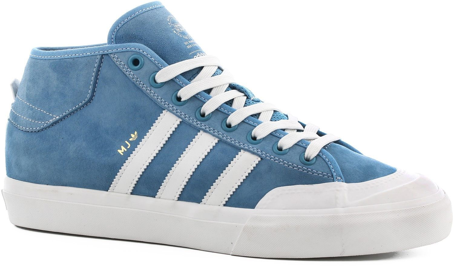 san francisco e4e19 2301b Adidas Matchcourt Mid - Light Blue Neo White Gold