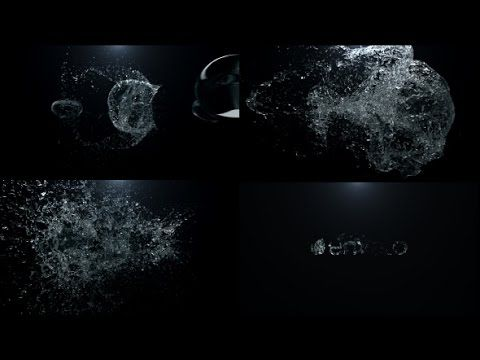 Water Blast Logo Intro | After Effects Template | Royalty