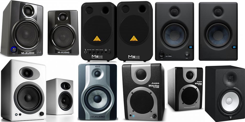 The Top 10 Best Studio Monitor Speakers Ever myoozek Pinterest