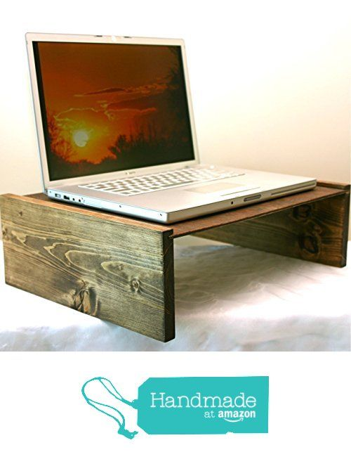 Laptop Table, Handmade Rustic Wood Mini Table, Portable