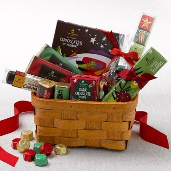 Chocolate gift basket of cheer perfect gift for a group www chocolate gift basket of cheer perfect gift for a group lakechamplainchocolates negle Choice Image