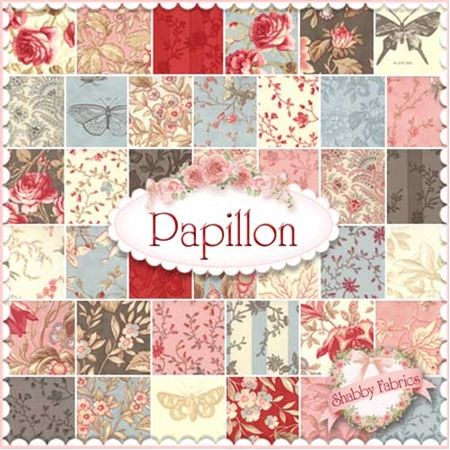 Papillon Charm Pack by 3 Sisters for Moda Fabrics