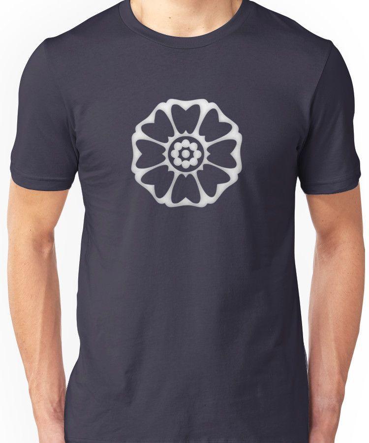 White Lotus Symbol Unisex T Shirt White Lotus Unisex And Products