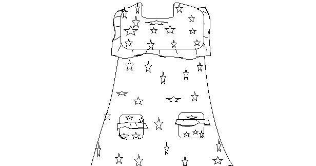 Kali Ini Coba Memuat Pola Baju Anak Perempuan Yang Cukup Sederhana