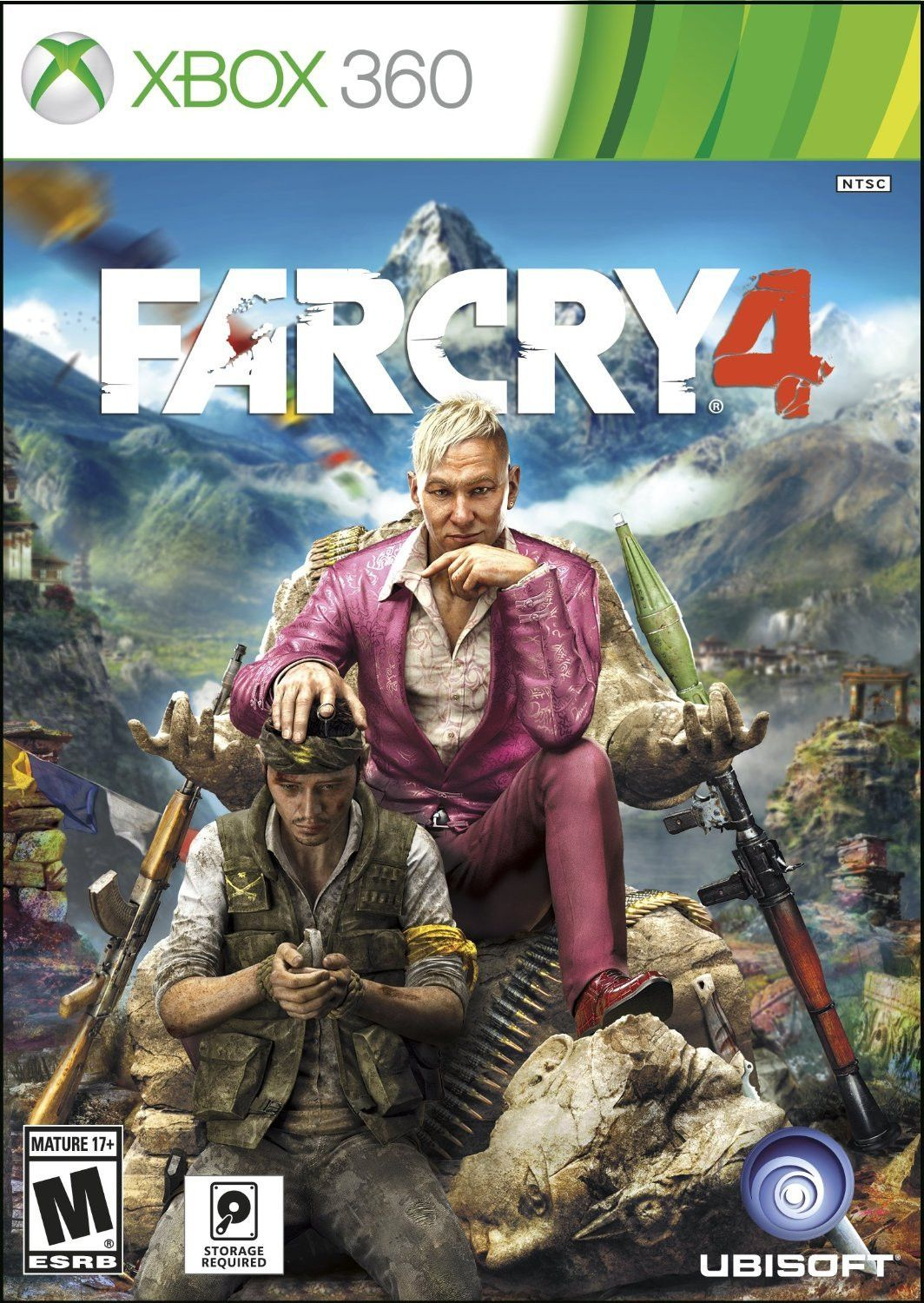 Far Cry 4 Xbox 360 Physical Game Disc US Ps4 or xbox one