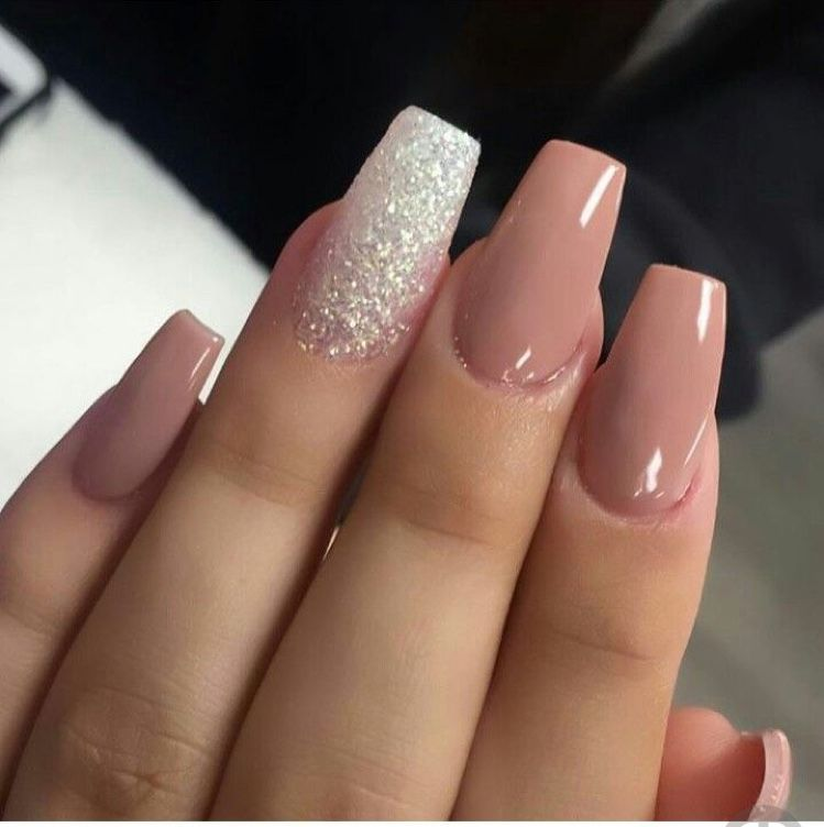 Pin De Erika En Glitter Nails Uñas Postizas Decoradas