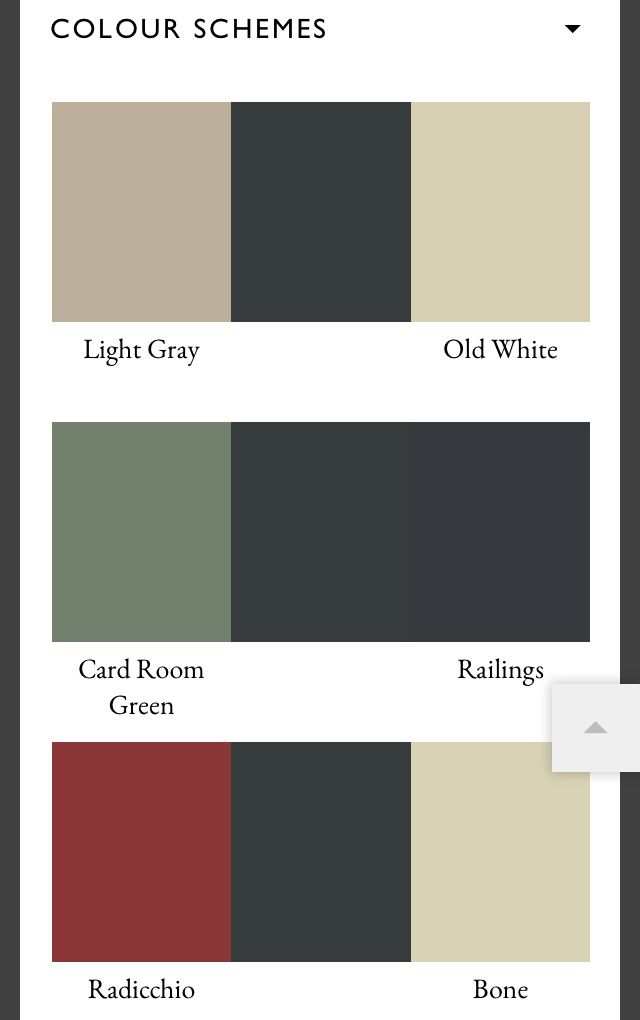 Farrow Ball Studio Green Recommended Color Schemes