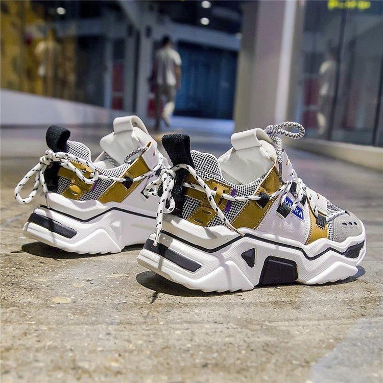 Casual Vulcanize Platform Chunky Sneaker   Sneakers, Chunky