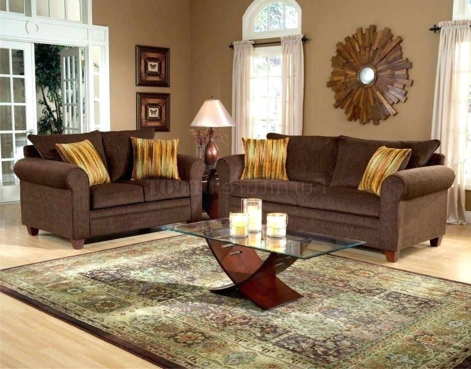 Brown Sofa Wohnzimmer Dekor Dark Brown Couch Living Room Brown