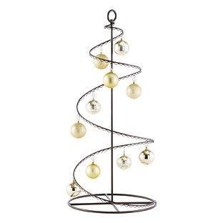 Iron Christmas Tree Display Stands Mini And Small Metal