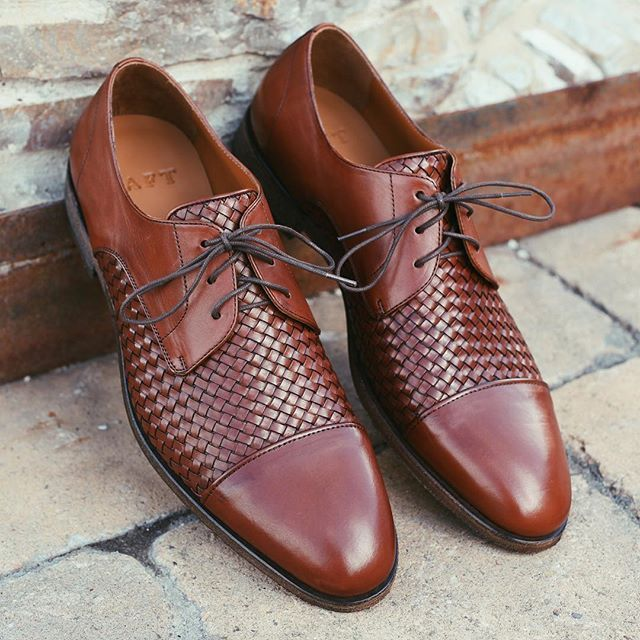 Taft Leather Shoe The Lucca Cognac