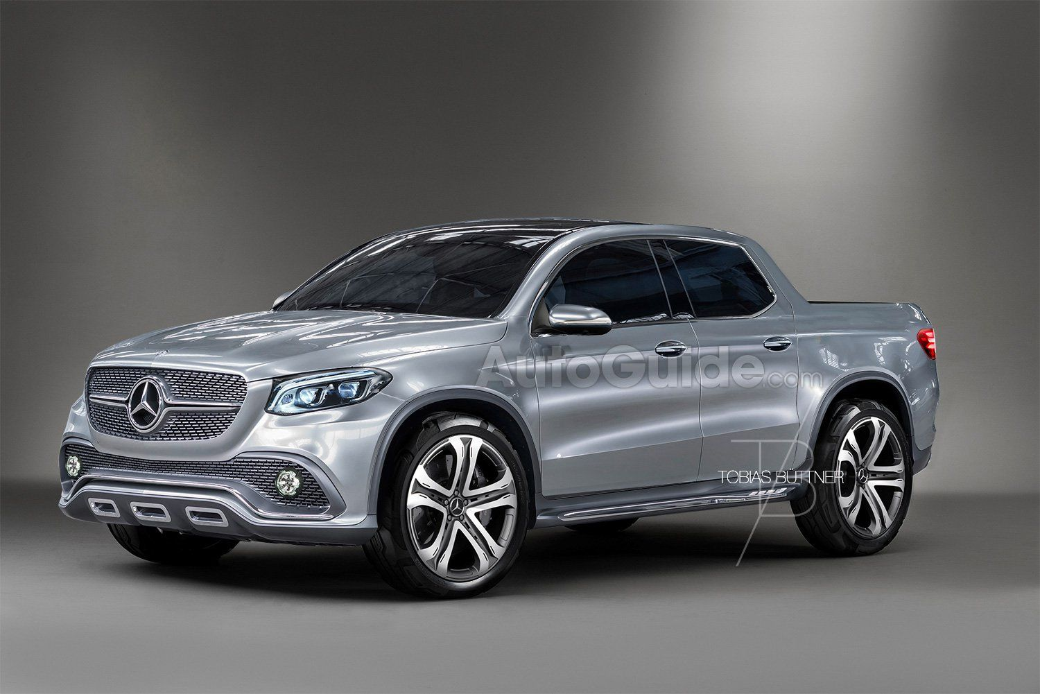 A Mercedes Benz Glt Pickup Truck Is Coming In 2017 According To Leaked Roadmap And Autoguide Has Renders On What It Could Look Like