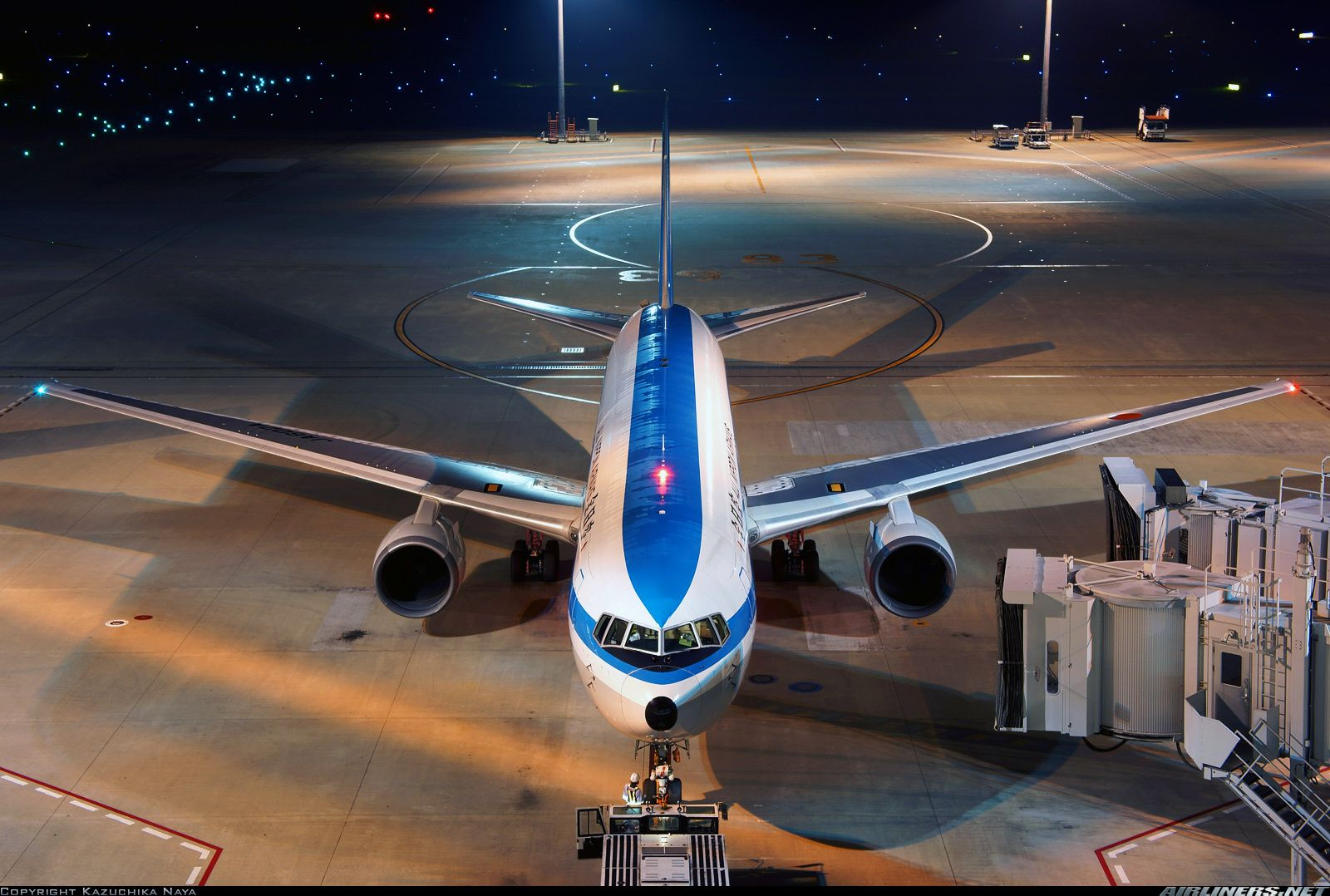 Boeing 767381 aircraft picture 飛行機