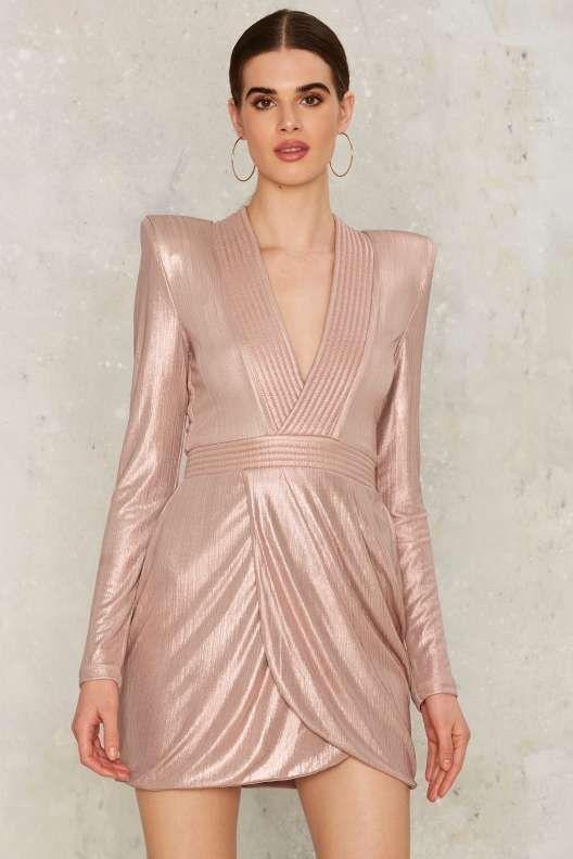 4d884a6094c9 Zhivago Eye of Horus Mini Dress - Metallic | fabulous fashion ...