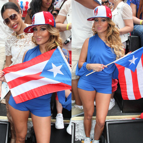 Adrienne Julissa At The 2012 Puerto Rican Day Parade O So Glam