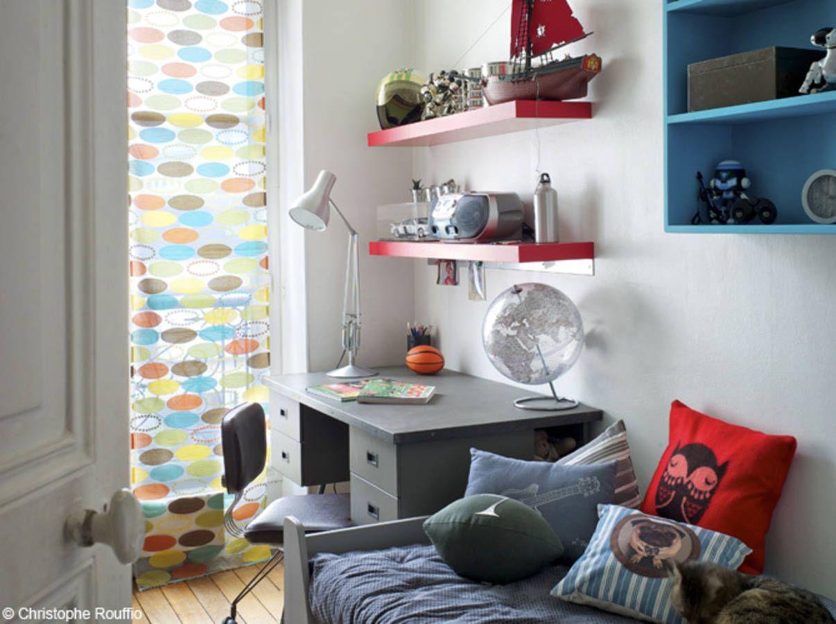 Chambre garcon rouge bleu et gris | Chambre garçon | Pinterest ...