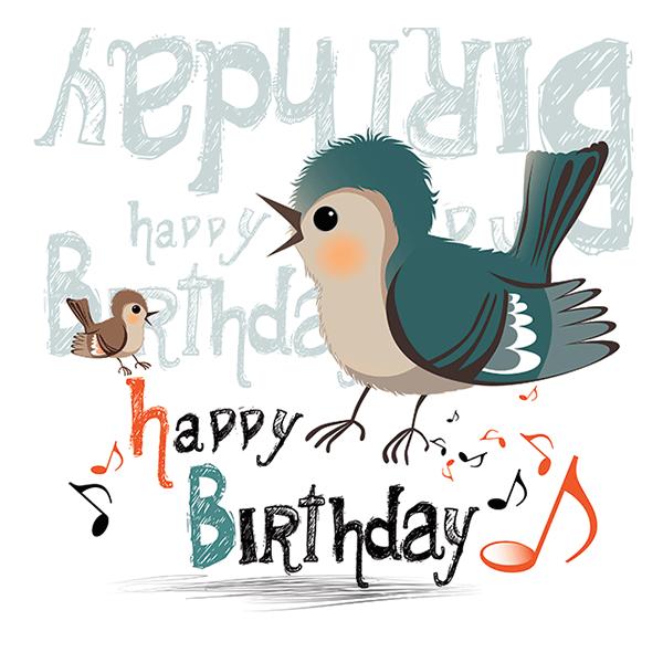 Birthday Bird Birthdays Bird And Happy Birthday