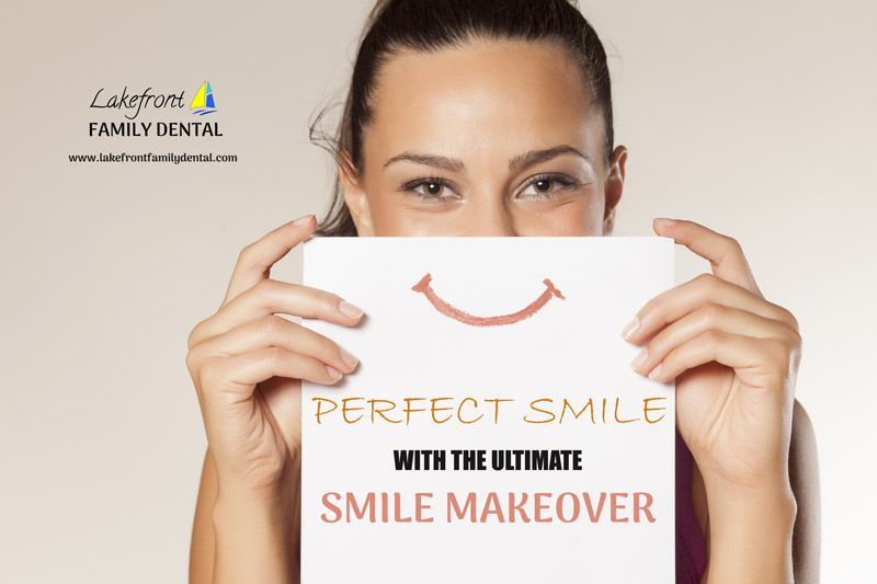 The Ultimate Smile Makeover specialist at Lakefront Family Dental in Burlington, ON