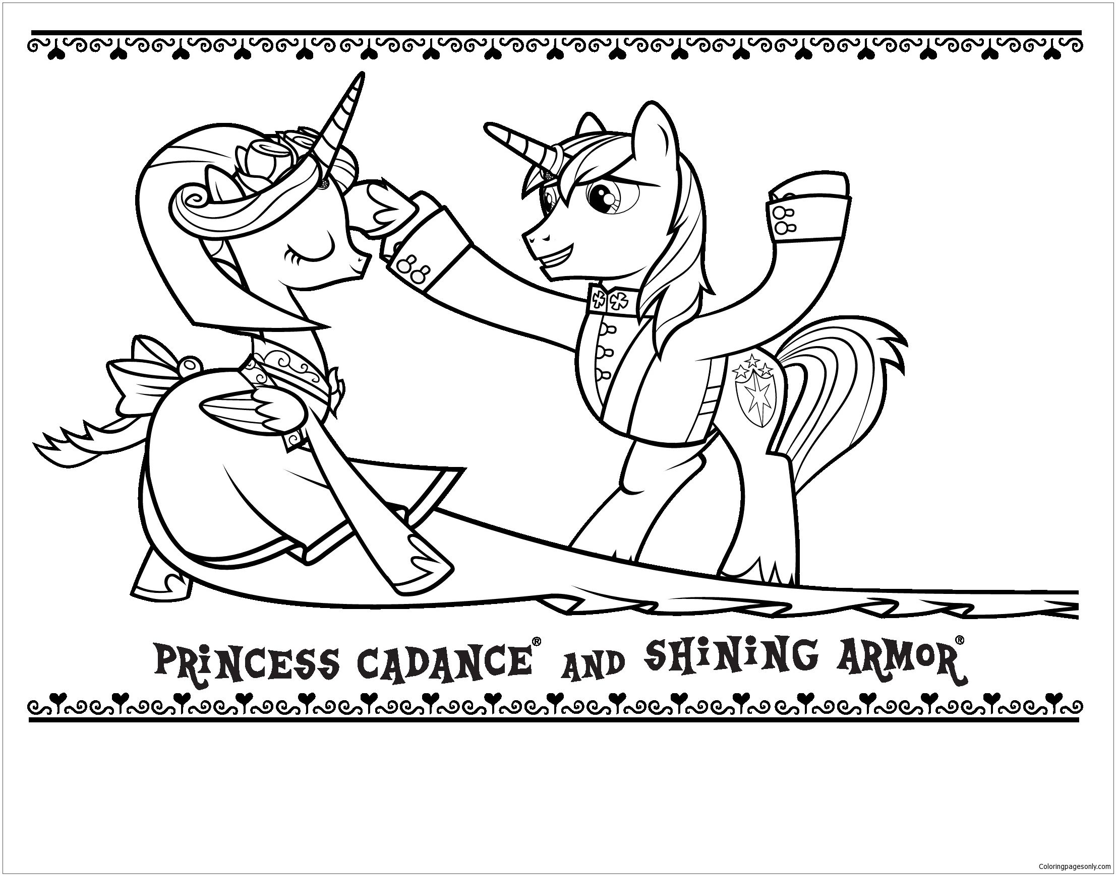Pin by Coloring Pages on My Little Pony Coloring Pages | Pinterest ...